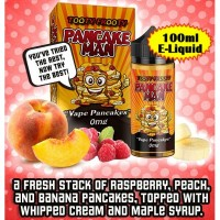 Pancake Man 100ml E Liquid by Vape Breakfast Classics