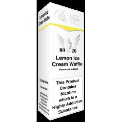 Lemon Ice Cream Waffle E Liquid by City Vape
