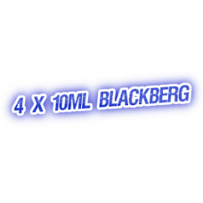 4 X Blackberg E-Liquid by City Vape