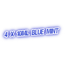 4 X Blue Mint E-Liquid by City Vape