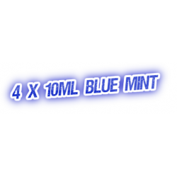 4 X Blue Mint E-Liquid by City Vape