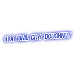 4 X City Doughnut E-Liquid by City Vape