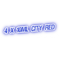 4 X City Red E-Liquid by City Vape
