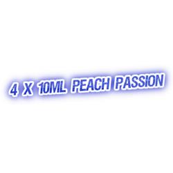 4 X Peach Passion E-Liquid by City Vape