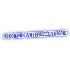 4 X Watermelon Bomb E-Liquid by City Vape