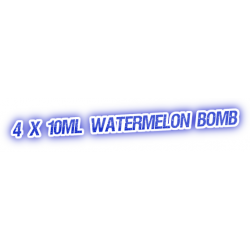 4 X Watermelon Bomb E-Liquid by City Vape