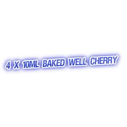 4 X Baked Well Cherry E-Liquid by City Vape