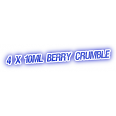 4 X Berry Crumble E-Liquid by City Vape