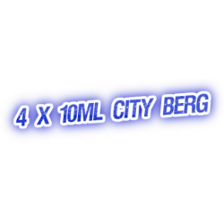 4 X City Berg E-Liquid by City Vape