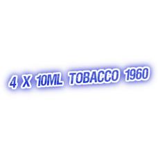 4 X Tobacco 1960 E-Liquid by City Vape