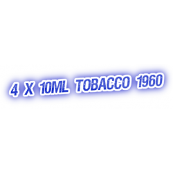 4 X Tobacco 1960 E-Liquid by City Vape