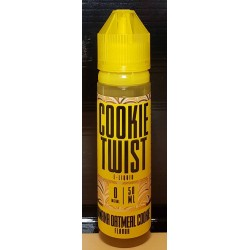 Cookie Twist Banana Cookie 50ml 0mg by Lemon Twist