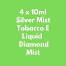 4 x 10ml Gold & Silver Tobacco