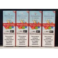 4 x 10ml Diamond Mist Rainbow Candy 20mg Nic Salt