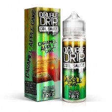 Double Drip Caramel Apple Cake 50ml 0mg E-Liquid
