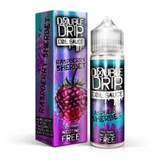 Double Drip Raspberry Sherbet 50ml 0mg E-Liquid
