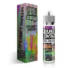 Double Drip Sherbet Rainbow 50ml 0mg E-Liquid
