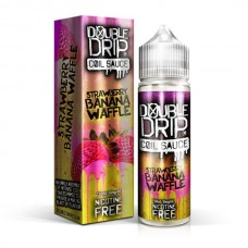 Double Drip Strawberry Banana Waffle 50ml 0mg E-Liquid