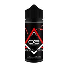 Black Ops - 3 - Strawberry Custard 100ML 0mg | conwy-valley-vapours