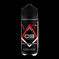 Black Ops - 3 - Strawberry Custard 100ML 0mg