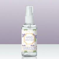 75% Alcohol Hand Sanitiser Lavender and Tea Tree 50ml