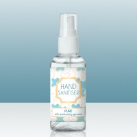 75% Alcohol Hand Sanitiser Pure 50ml