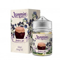 Blueberry Jam by Jammin E-Liquid shortfill 50ml 0mg