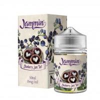Blueberry Jam Tart by Jammin E-Liquid Shortfill 50ml 0mg