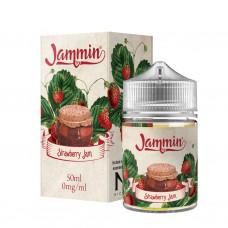 Strawberry Jam by Jammin E-Liquid Shortfill 50ml 0mg