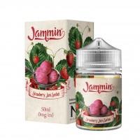 Strawberry Jam Sorbet by Jammin E-Liquid Shortfill 50ml 0mg