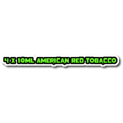 American Red Tobacco E Liquid By Halo UK E Liquid