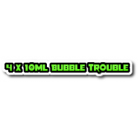 4 X Bubble Trouble E Liquid By Halo Vapour Co UK