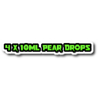 4 x Pear Drops E Liquid By Halo UK