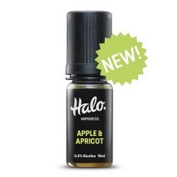 Apple And Apricot E Liquid By Halo UK E Liquid